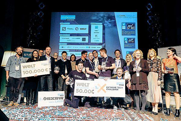 Hamburg Startups: Inspirient gewinnt Startups@Reeperbahn Pitch 2017
