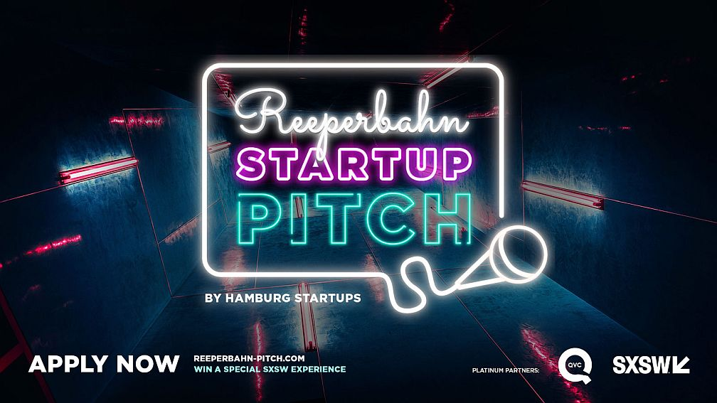 Hamburg Startups: Here's the starting signal for the Reeperbahn Startup Pitch 2019!
