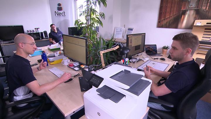 RTL Nord: Kiez-Pitch: Hamburger Startup Nect kämpft um Aufmerksamkeit von Investoren