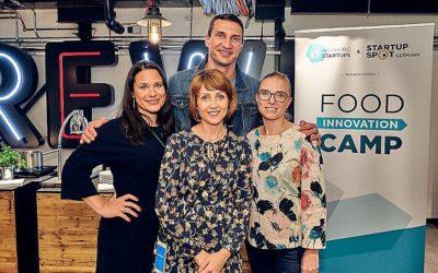 "Hamburg Startups: Together in the ring: Hamburg Startups and Klitschko Ventures form the ""Startup Challenge Team"""